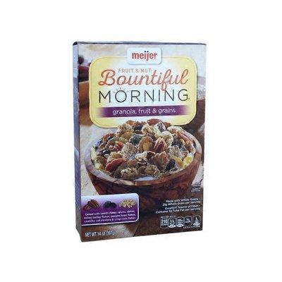 Meijer Fruit & Nut Bountiful Morning Cereal