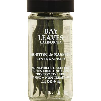 Morton & Bassett Spices Bay Leaves, California