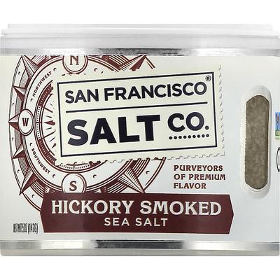 San Francisco Salt Sea Salt, Hickory Smoked