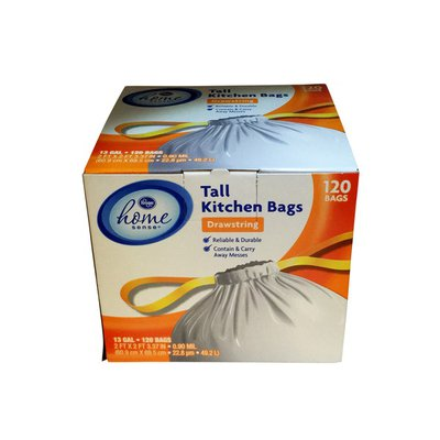 Home Sense Tall Kitchen Bags With Drawnstrings