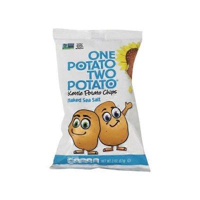 One Potato Naked Sea Salt Kettle Potato Chips