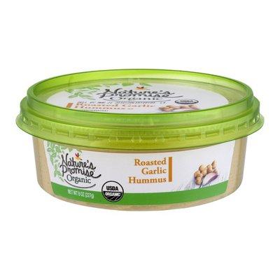 Nature's Promise Organic Roasted Garlic Hummus