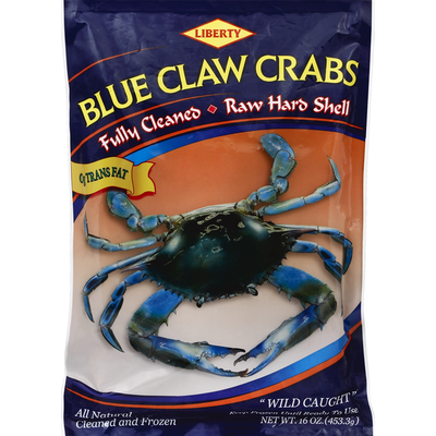 Liberty Blue Crab Claws