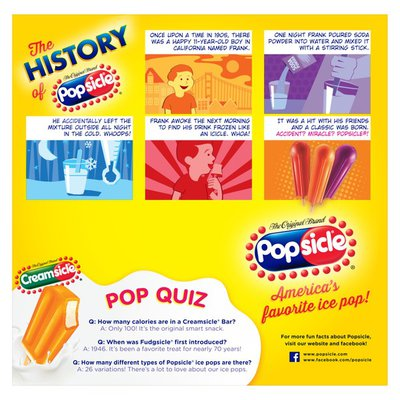Popsicle Ice Pops Tropicals