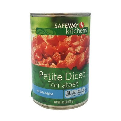 Signature Kitchens No Salt Added Petite Diced Tomatoes In Juice