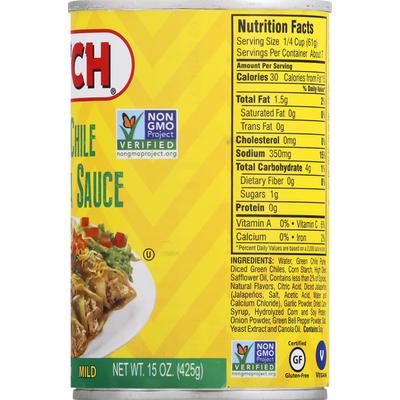 HATCH Enchilada Sauce, Green Chile, Mild