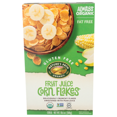 Nature's Path Fruit Juice Corn Flakes Cereal