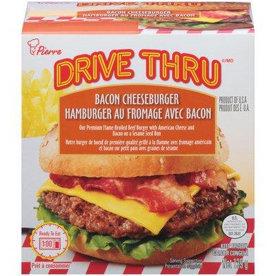 Drive Thru Bacon Cheeseburger