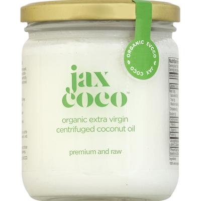 Jax Coco Coconut Oil, Centrifuged, Organic Extra Virgin