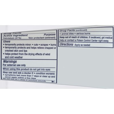 Aquaphor Advanced Therapy Healing Ointment Skin Protectant Tube