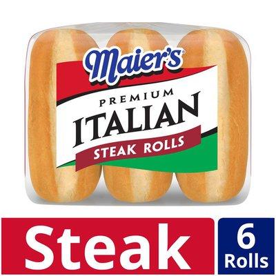 Maier's Premium Italian Steak Rolls