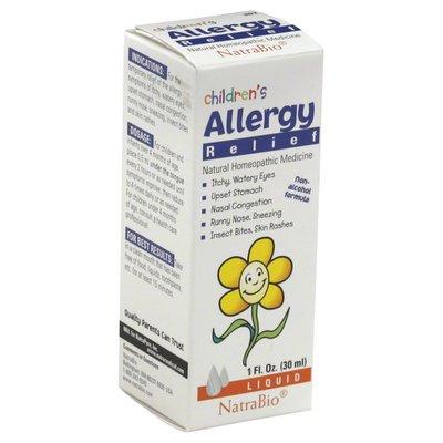 NatraBio Allergy Relief, Children's, Liquid