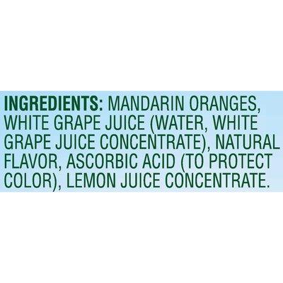 Del Monte Mandarin Oranges in 100% Juice Plastic Fruit Cup Snacks