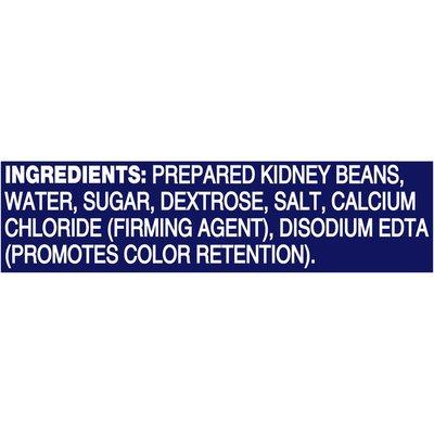 Bush's Best Reduced Sodium Dark Red Kidney Beans