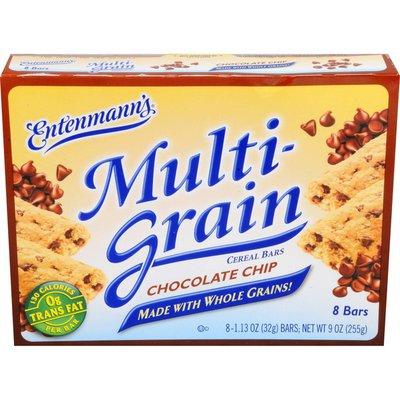 Entenmann's Multi-Grain Chocolate Chip Cereal Bars