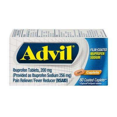 Advil Ibuprofen Caplets - 80 CT