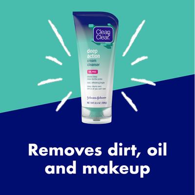Clean & Clear Deep Action Cream Cleanser