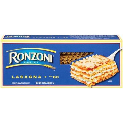 Ronzoni Lasagna Pasta