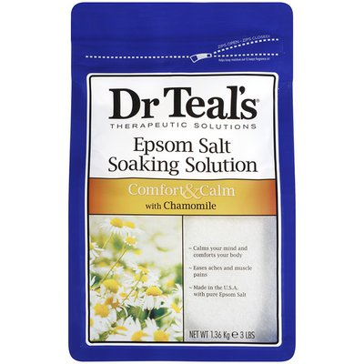 Dr. Teal's with Chamomile Epsom Salt Soaking Solution