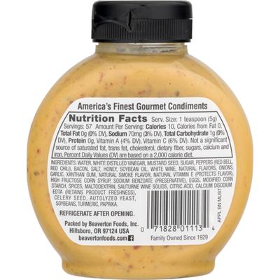 Inglehoffer Mustard, Applewood Smoked Bacon