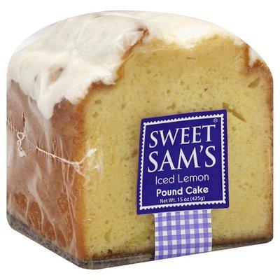 Sweet Sam's Pound Cake, Iced Lemon