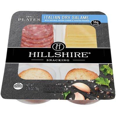 Hillshire Farm Small Plates, Italian Dry Salami and Gouda Cheese, Single Serve