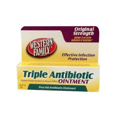 Western Family Triple Antibiotic Ointment