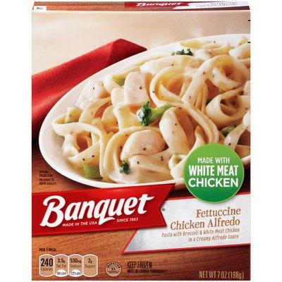 Banquet Chicken Alfredo Fettuccine