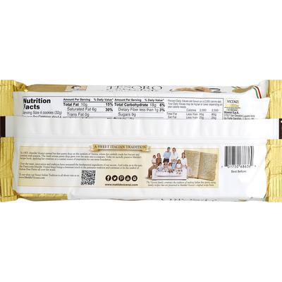Matilde Vicenzi Puff Pastry, Cream Filled, Chocolate