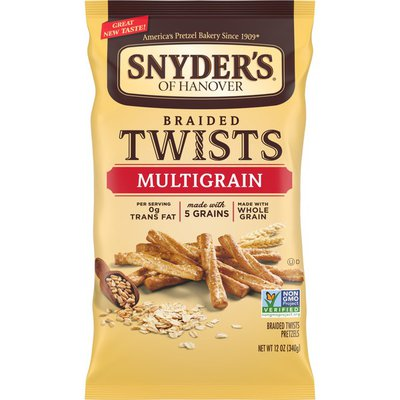 Snyder's of Hanover® Multigrain Braided Pretzel Twists