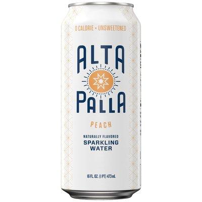 Alta Palla Peach Sparkling Water