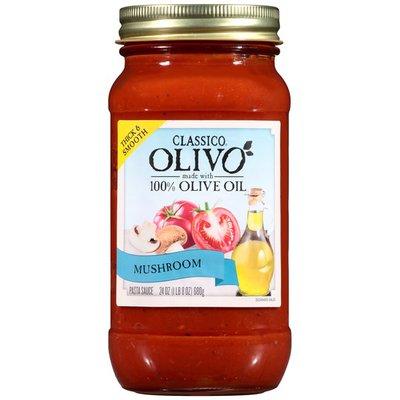 Classico Olivo Mushroom Pasta Sauce