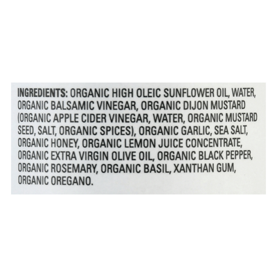 Drew's Organics Dressing & Quick Marinade, Rosemary Balsamic