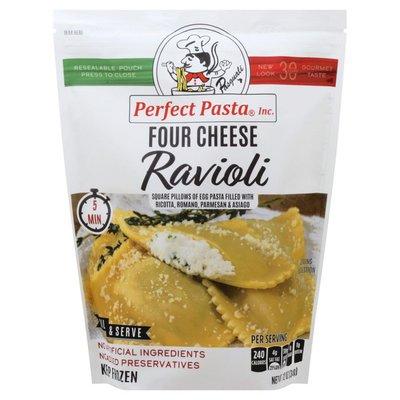 Perfect Pasta Ravioli, Four Cheese