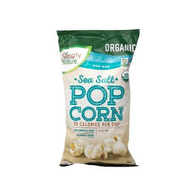 Simply Nature Organic Sea Salt Pop Corn