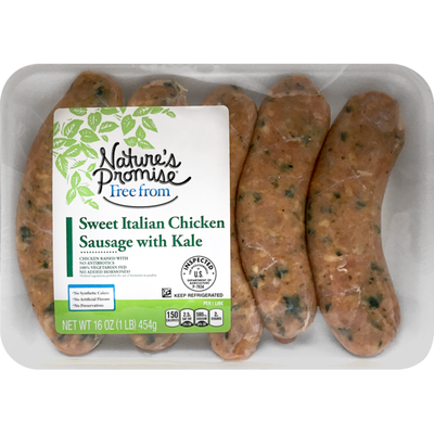 Nature's Promise Italian Chicken Sausage with Kale