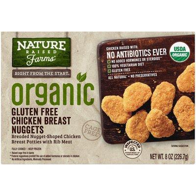 NatureRaised Farms 'Gluten Free Chicken Breast Nuggets