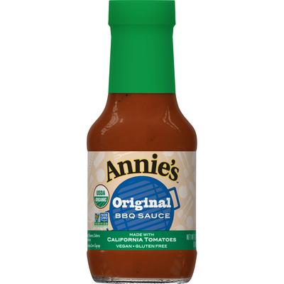 Annie's Original Recipe BBQ Sauce, Certified Organic, Vegan, Gluten Free