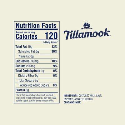 Tillamook Sharp Cheddar Cheese Block