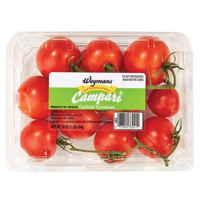 Wegmans Campari Cocktail Tomatoes