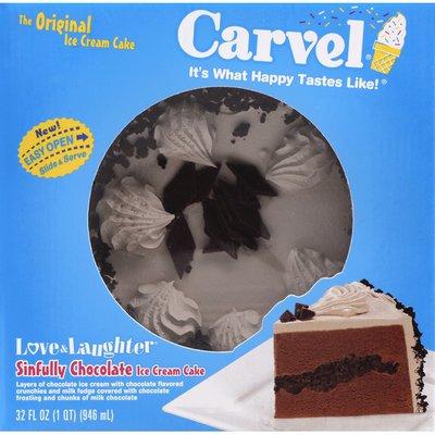 Carvel Ice Cream Cake, Sinfully Chocolate