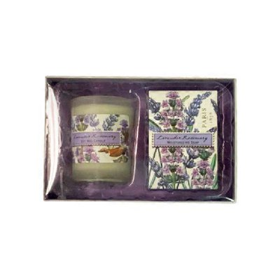 Michel Design Works Lavender & Rosemary Scent Candle Gift