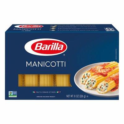Barilla® Classic Blue Box Oven Pasta Manicotti