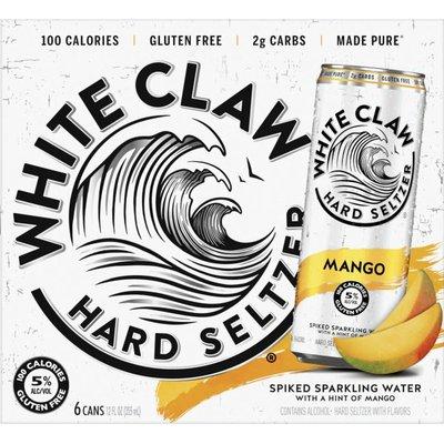 White Claw Mango Can