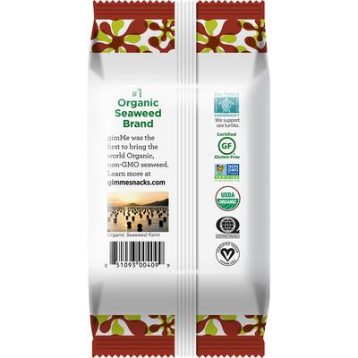 gimMe Seaweed, Premium Roasted, Teriyaki