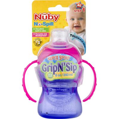Nûby No-Spill Grip N' Sip Step 1