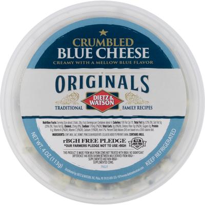 Dietz & Watson Blue Cheese, Crumbled