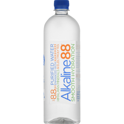 Alkaline88 Purified Water, Smooth Hydration