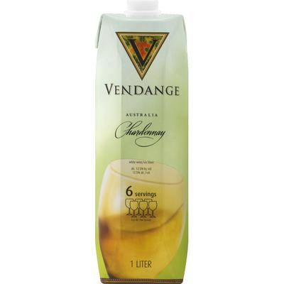 Vendange Chardonnay White Wine Go Pack