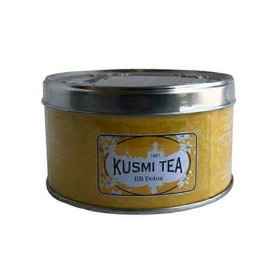 Kusmi Tea Detox Loose Leaf Tea, Metal Tin
